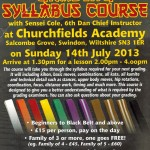 SSKA Syllabus Course - 14th July
